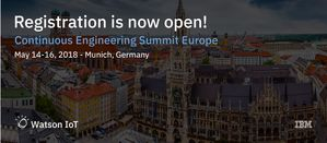 MID und smartfacts auf dem Watson IoT Continuous Engineering Summit Europe in München